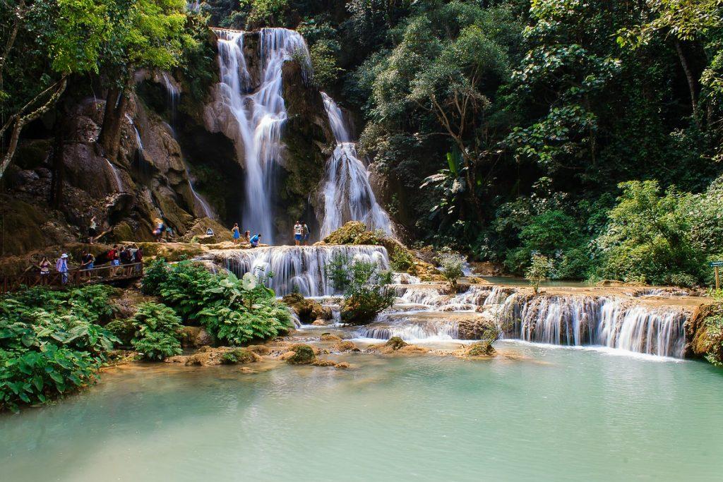 Kuang Si Wasserfall Luang Prabang