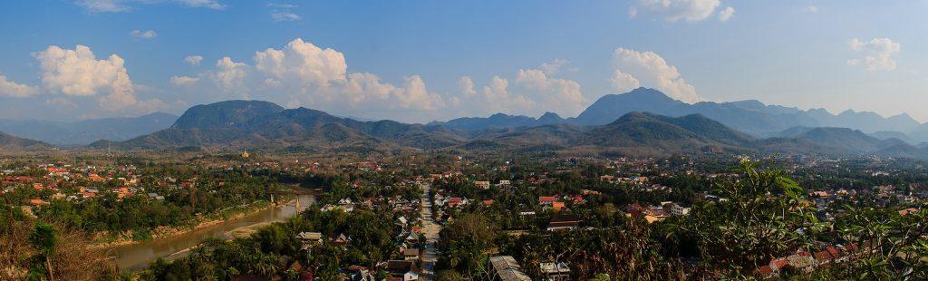 Luang Prabang Mount Phou Si